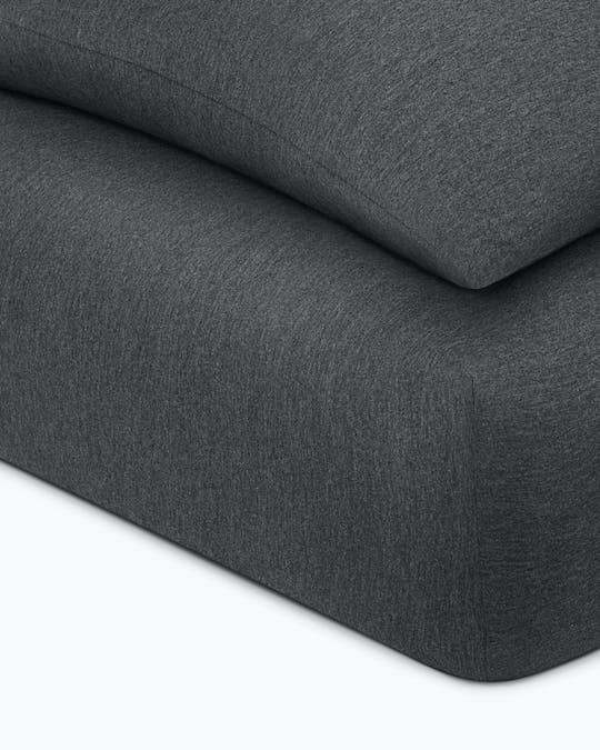 Modern Cotton Harrison Flat Sheet Queen Bed -
