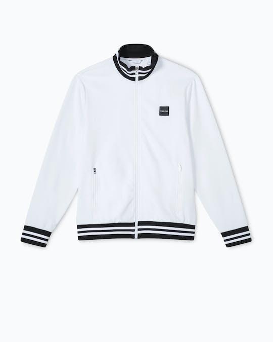 Long Sleeve Mockneck Full Zip Sweater -