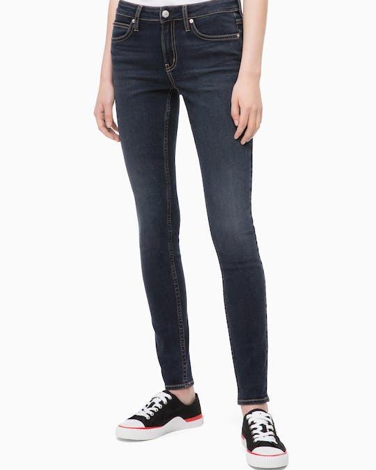 Ckj 001 Mid Rise Super Skinny Jeans -