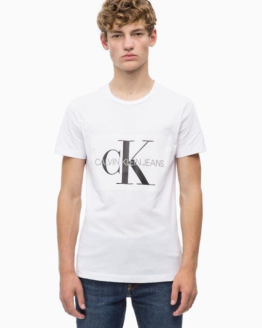 Core Monogram Box Logo Slim Fit T-Shirt -