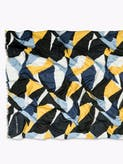 Printed Colour Block Scarf -