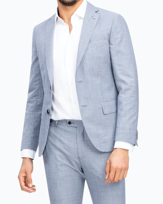 Slim Fit Wool Blend Sporting Blazer -