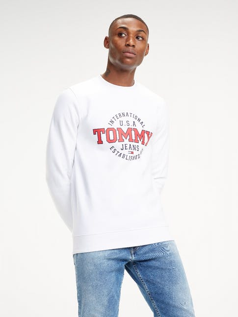 Tommy Jeans Circle Logo Sweatshirt