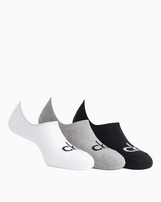 3 Pack Logo Liner Socks -