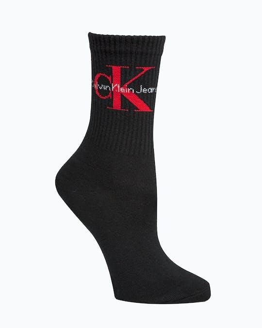 Jeans Logo Short Crew Socks -