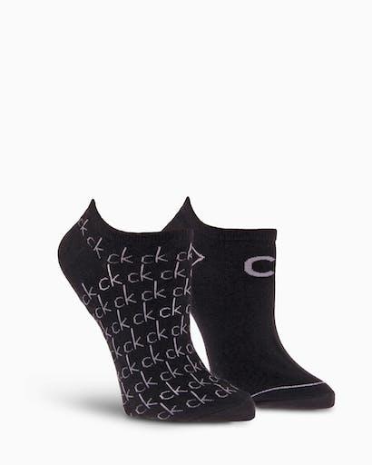 2 Pack Repeat Logo Liner Socks -