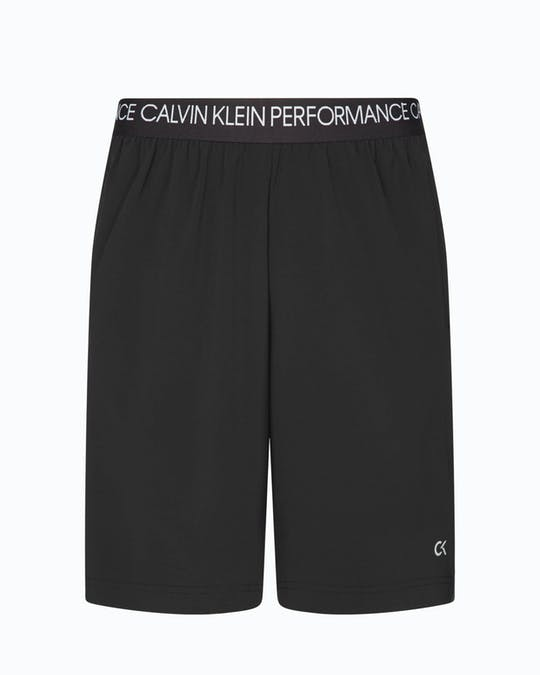 LOGO WAISTBAND SHORTS CK BLACK -