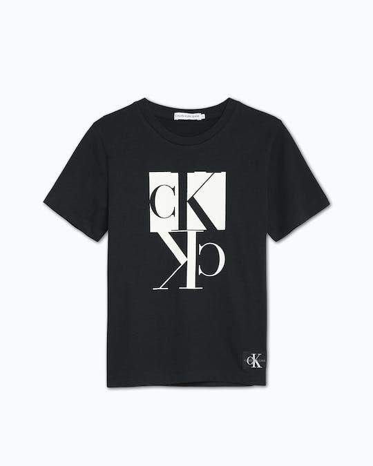 Boys 4-7 Organic Cotton Logo T-Shirt -