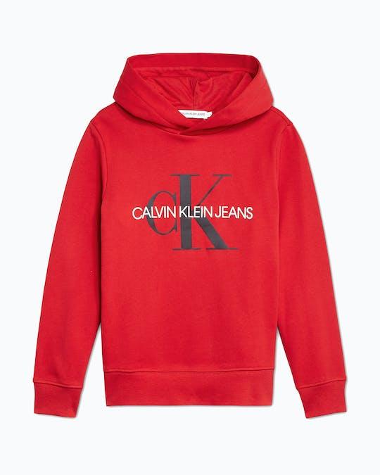 Kids Unisex 4-7 Organic Cotton Logo Hoodie -