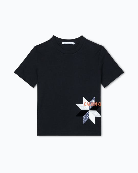 Institutional Quilt Slim Tee -