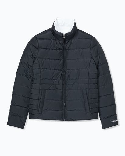Reversible Fitted Puffer Jacket -