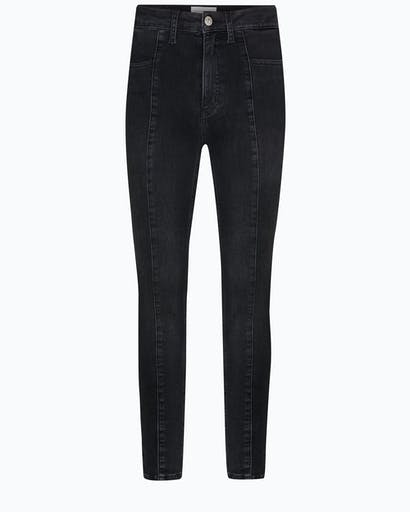 High Rise Seamed Super Skinny Jeans -