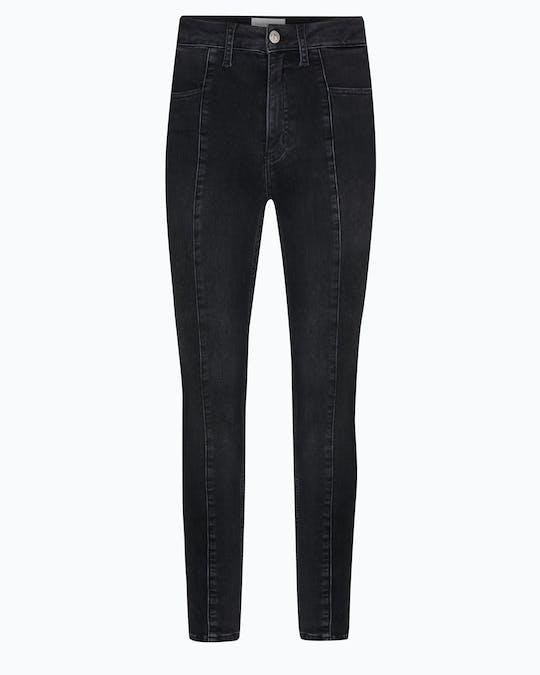 High Rise Seamed Super Skinny Jeans -