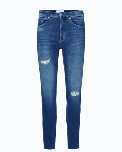 High Rise Super Skinny Ankle Jeans -