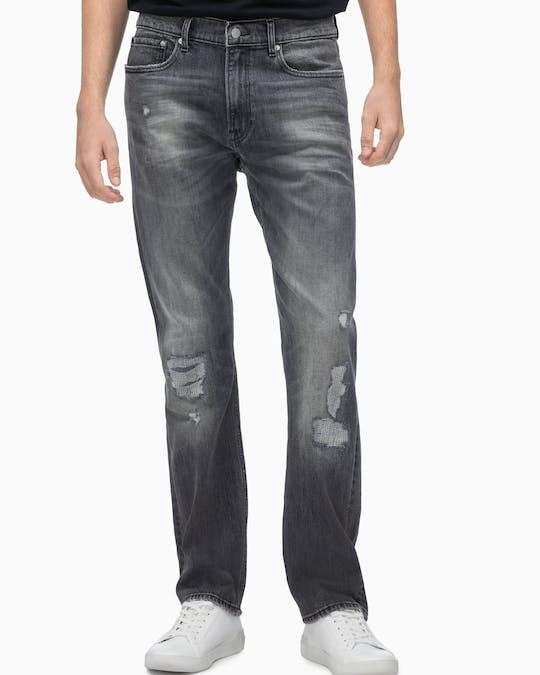 Ckj 035 Mid Rise Straight Jeans -