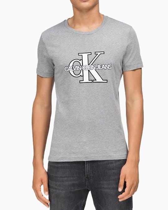 Monogram Front Logo Slim Fit T-Shirt -