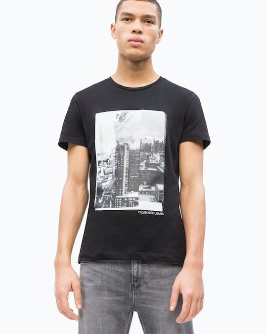 Landscape Graphic Slim Fit T-Shirt -