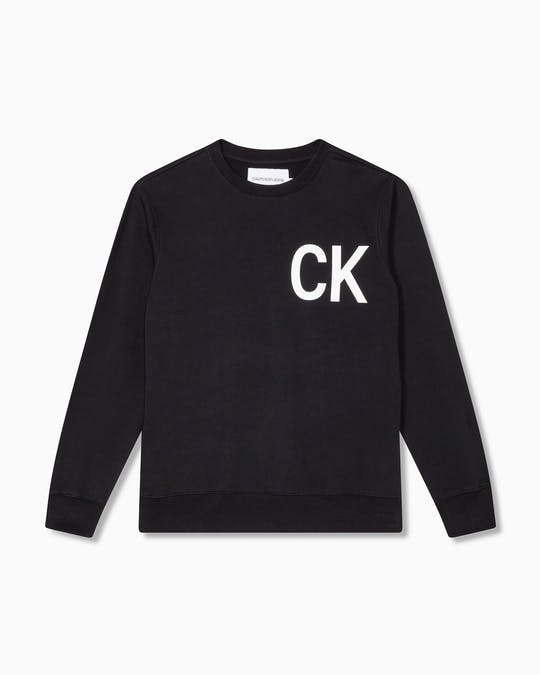 Statement Logo Crew Neck Sweater -