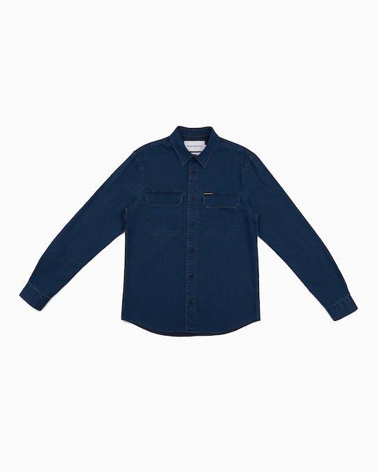 Herringbone Long Sleeve Shirt -