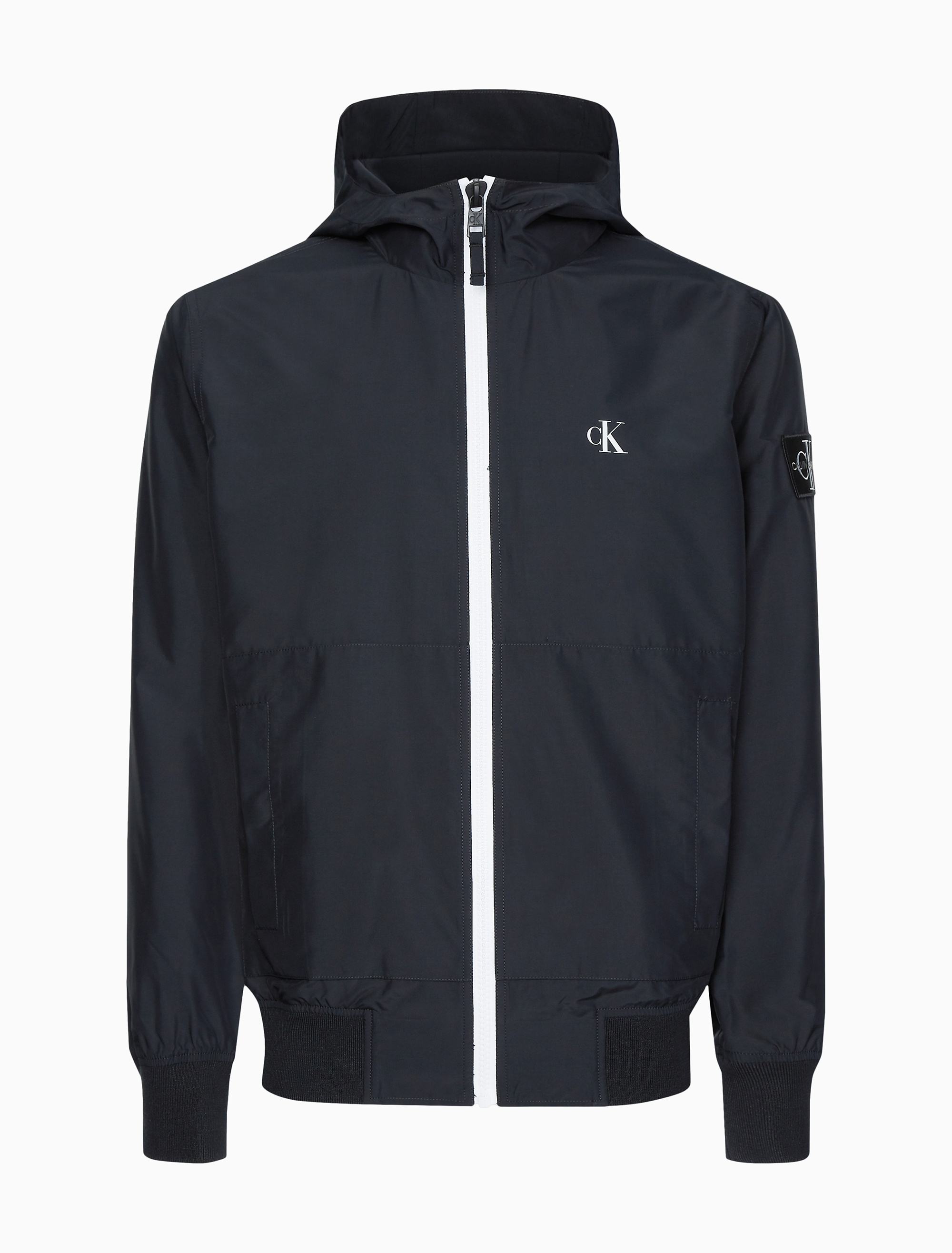 Calvin Klein Large Black Water Resistant Wind Protection