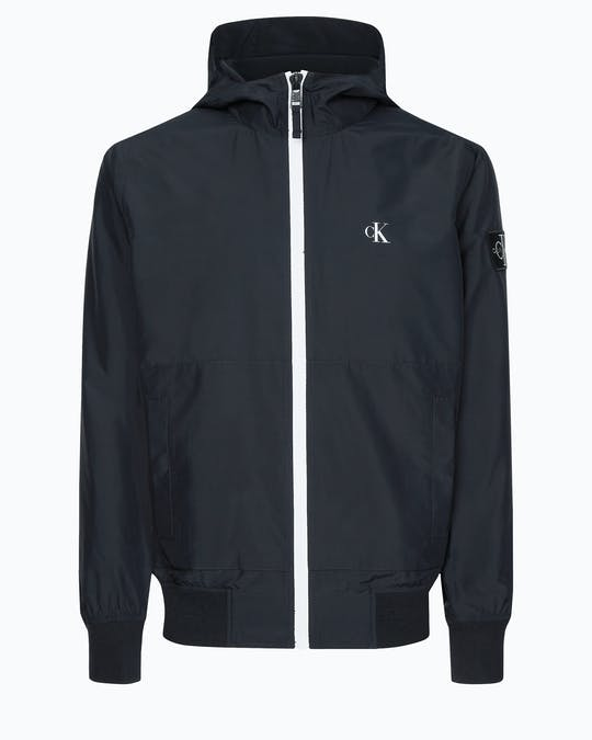 Hooded Zip Up Jacket -