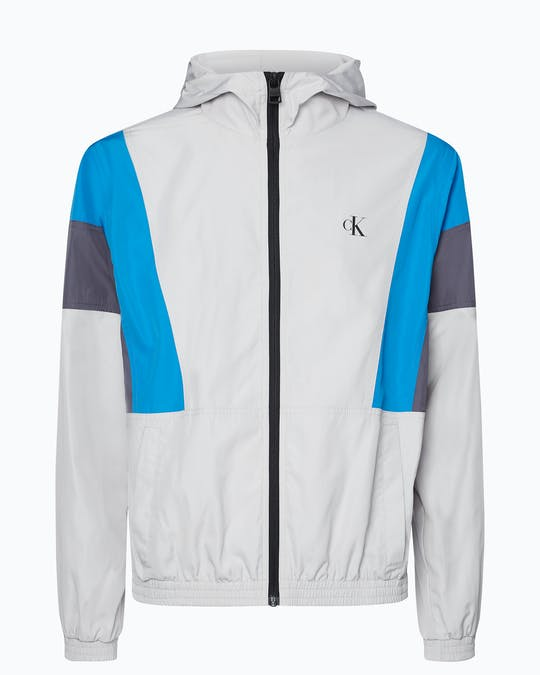 Relaxed Colour Block Track Jacket -