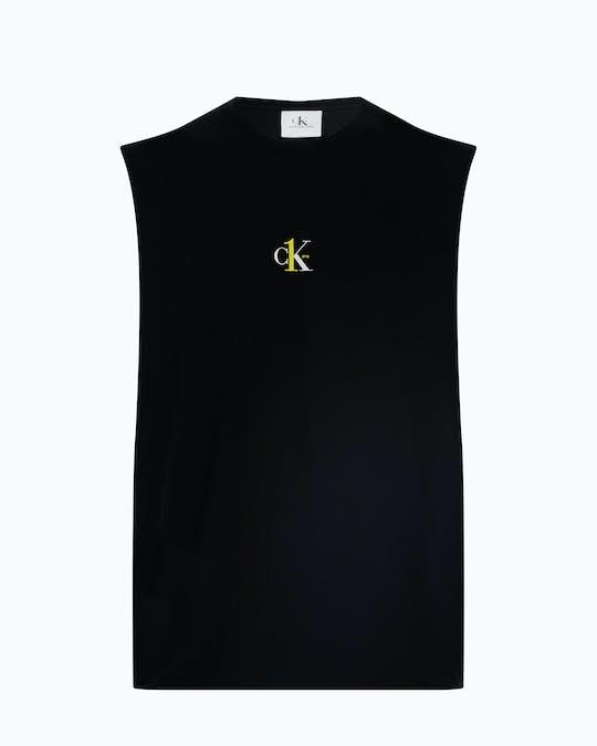 CK1 SMALL LOGO REG SLS BAE BLK MNS TEE -