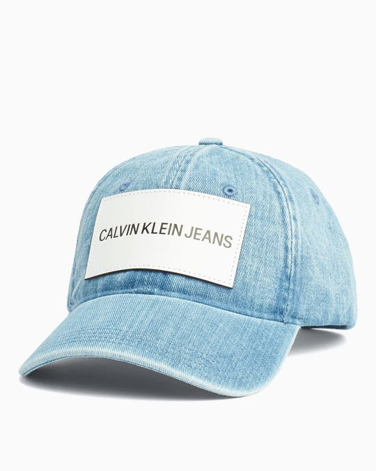 Institutional Denim Cap -