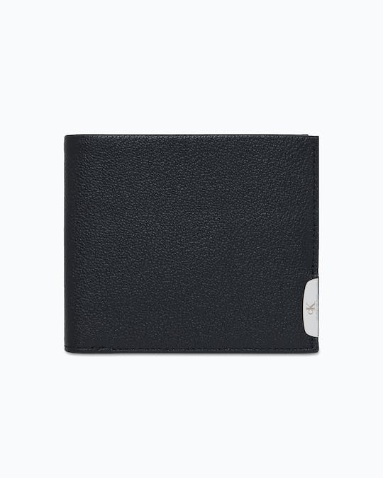 Micro Pebble Leather Billfold Wallet -