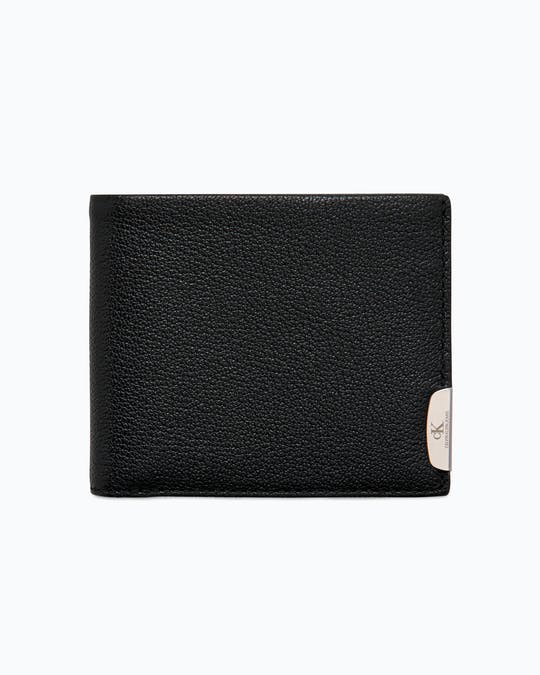 Micro Pebble Leather Slimfold Wallet -