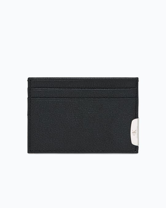 Micro Pebble Leather Cardholder -
