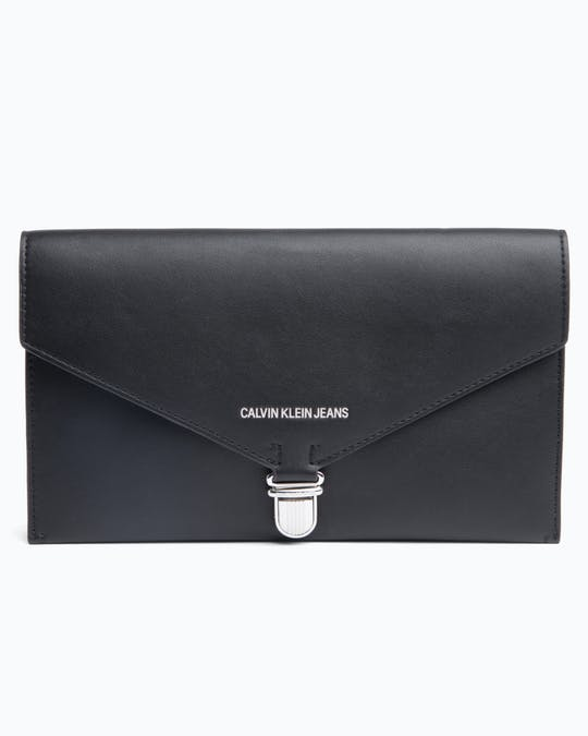 Textured East/West Clutch -