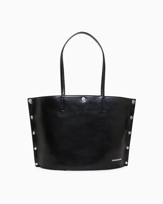 Rivet Round Bottom Tote Bag -