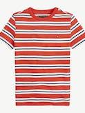 Boys 8-16 Pure Cotton Stripe T-Shirt -
