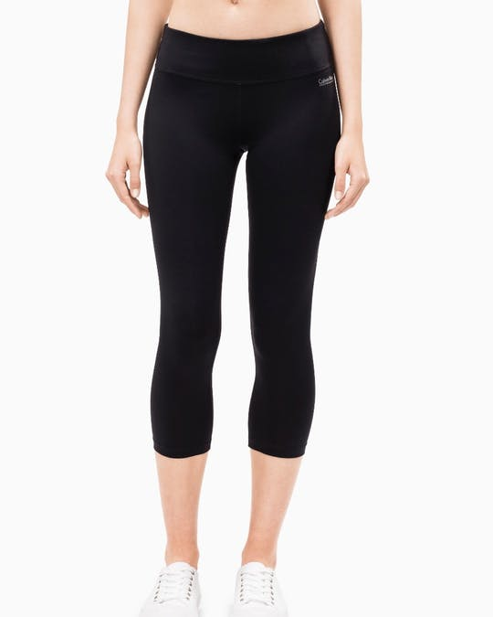 Performance Mid Rise Crop Leggings -