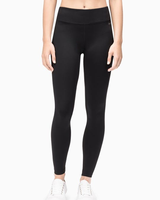 Performance Mid Rise Full Length Leggings -