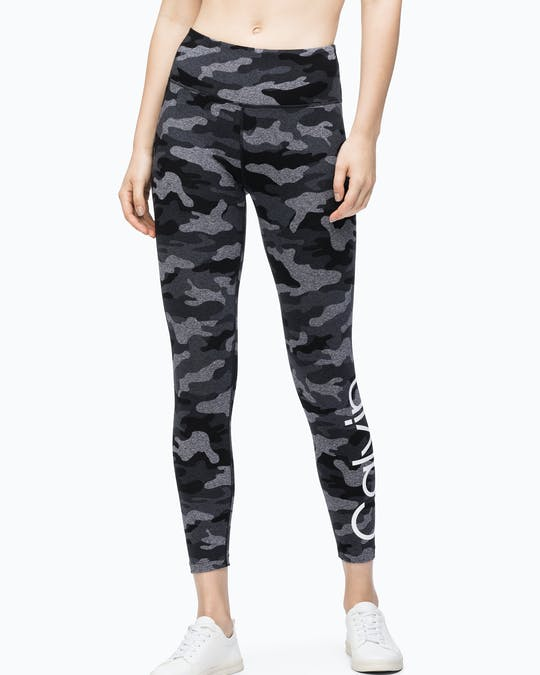 CAMO LOGO 7/8 LEGGING BLACK HEATHER CMB -