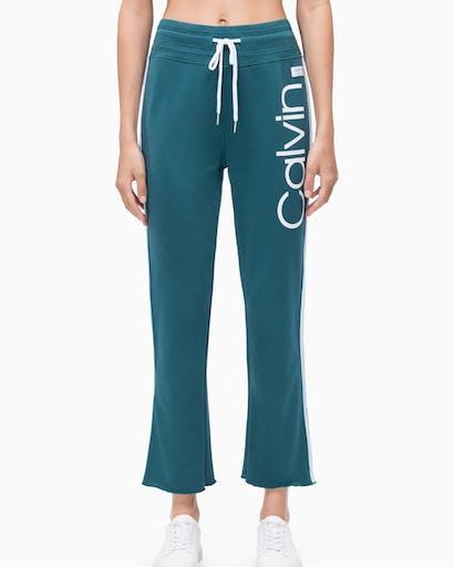 Calvin Logo Ankle Length Pant -
