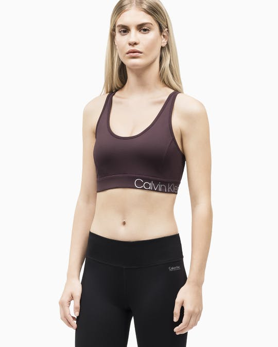 CRISS-CROSS SPORTS BRA RAISIN COMBO -