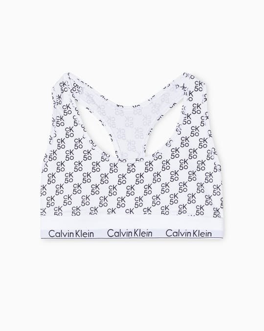 Ck50 Modern Cotton Unlined Bralette -