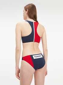 Colour-Blocked Classic Bikini Briefs -