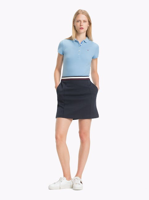 CHIARA STR PQ POLO DUSK BLUE -